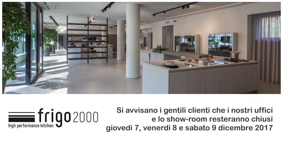 AVVISO Pop Up - Chiusura Showroom