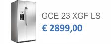 GCE 23 XGF LS | Porte cleansteel e laterali grigi
